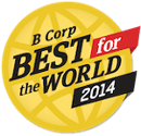 Best for the world 2014 badge
